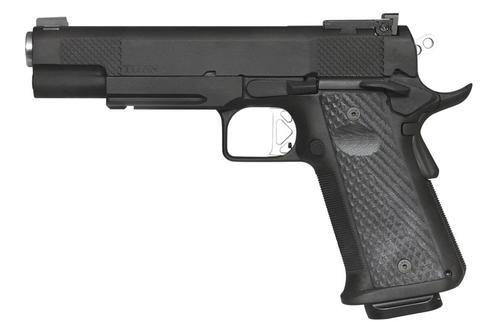 Dan Wesson Elite Series Titan 10mm, Black, Adj. Tritium Sights Rail, 13rd Mags