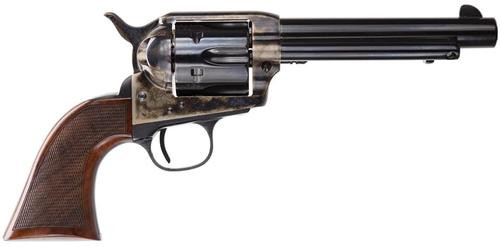 """Taylor's Smoke Wagon Deluxe .357 Rem Mag 5.5"""", Walnut Grip, CH Frame Blued, 6rd"""