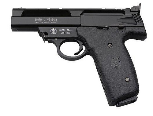 Smith and Wesson 22A 22LR, 4 Inch, Black, Adjustable Sights, Polymer Grips, 10rd Mags