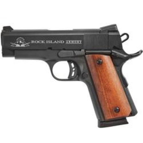 "Armscor Precision Rock Island Armory 1911-A1 Tactical CS 9mm 3.5"" Parkerized 7 Round"