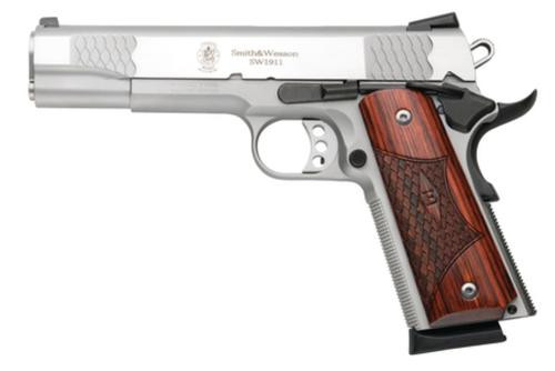 Smith & Wesson Model SW1911 E-Series, 45 ACP, SS