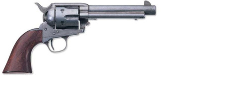 "Uberti 1873 Cattleman OM Old West Finish Revolver, .45 Colt, 5.5"", Walnut Grip"