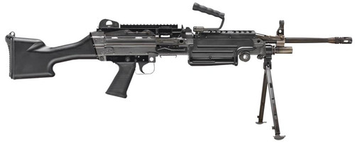"""Fn M249S SAW Military Collector 5.56mm, 18.5"""" Barrel, Black, 30rd"""