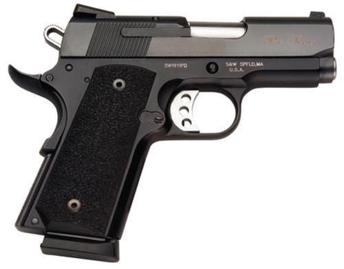 """Smith & Wesson Model 1911 'Pro', Matte Black 45 ACP 3"""" Barrel"""