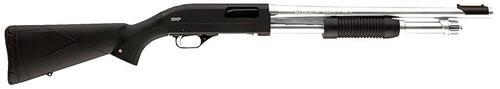 "Winchester SXP Marine Defender 12 ga 18"" 3"" Black Synthetic Stock Chrome"