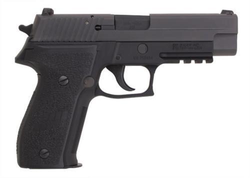 Sig P226 9MM 4.4In Mk25 Black Da/Sa Siglite Polymer Grip (2) 10Rd Steel MAG USN Anchor UID CA Compliant Phos.