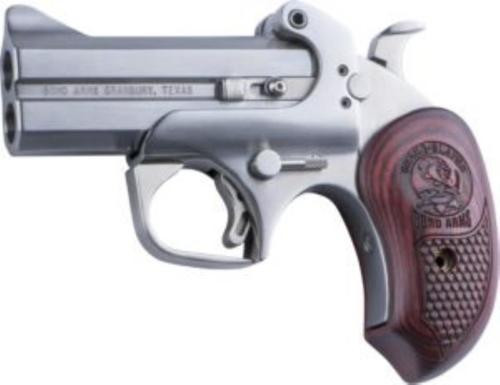 "Bond Arms Snake Slayer .45 Colt/410 3.5"" Barrel SS Finish Extended Rosewood Grips 2 Shot"