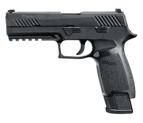 "Sig P320 9mm 4.7"" TAC OPS TFO Front/Siglite Rear Modular Polymer Grip (4) 21Rd Steel Mags"