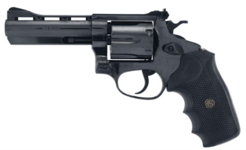 """Rossi 851 38 Special 4"""" w/Vent Rib 6rd Black Rubber Grip Blued"""
