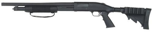 "Mossberg 500 Tactical 12 Ga, 18.5"", 6rd, LEFT HANDED, Adjustable Stock"