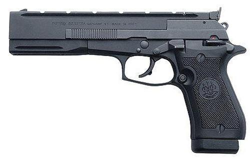 "Beretta Model 87 Target 22LR Single Action Matte Black 5.9"" Barrel"