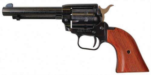 "Heritage Rough Rider .22 LR/.22 Magnum 4.75"" Barrel Blue Finish Cocobolo Grips 9rds"