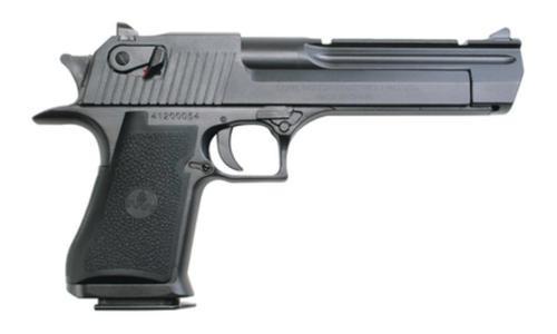"Magnum Research Desert Eagle *CA Appr* 44 RemMag 6"" Barrel, Black Synthetic Grip Black, 8rd"