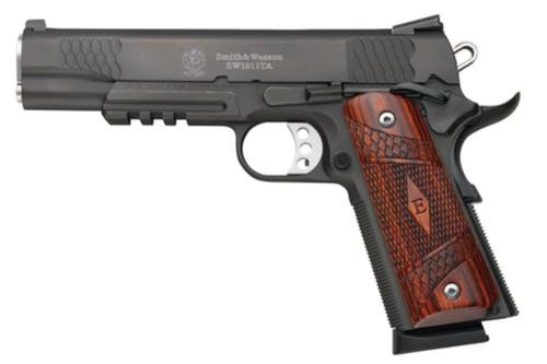 Smith & Wesson Model SW1911TA, E-Series, Rail, Night Sights, 45 ACP