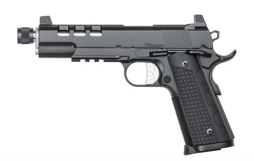 "Dan Wesson Discretion 9mm, 5.75"" Barrel, Black, Night Sights, 10+1rd"