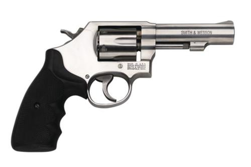 "Smith & Wesson Model 64 .38 Special +P 4"" Barrel Satin SS Finish Fixed Sight Internal Lock 6rd"