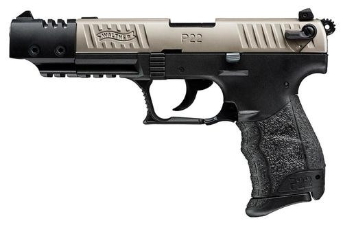 Walther P22 .22 L.R. CA Target Nickel 10 Round, 2 Mags