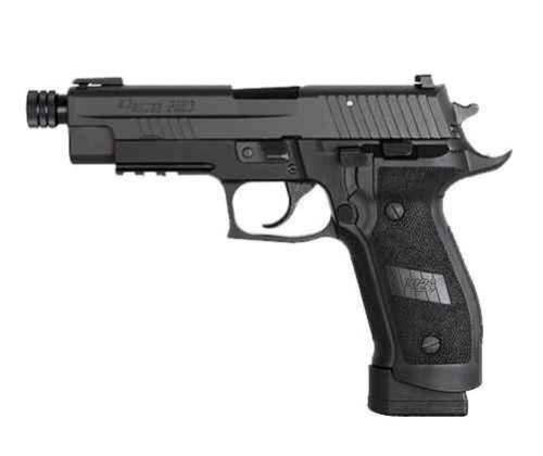 Sig P226 Tacops 9mm Threaded Barrel Nitron Finish 4 Mags 20rd