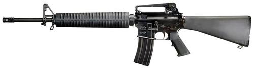 "Windham Weaponry Govt Rifle SA 223 Rem/5.56 NATO 20"" Barrel, Black A2 Stock, 30rd"