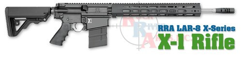 Rock River LAR-8 X-1 Rifle .308 Operator, A2 Stock, Black
