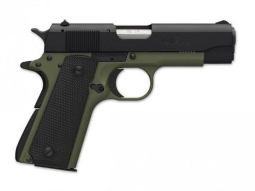 "Browning 1911-22 A1- OD S 22LR 4.3"" Barrel OD Green 10 Rd Mag"
