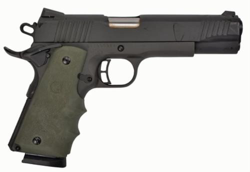 "Citadel M-1911 Full Size 45 ACP 5"" Barrel Matte Black Finish Hogue Synthetic Grip Olive Drab Green 8rd"