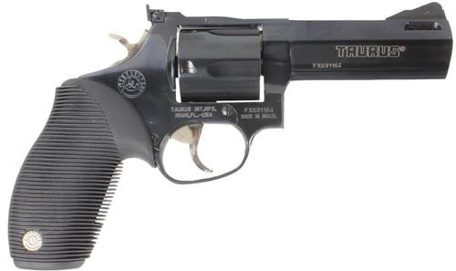 "Taurus 44 Tracker 44Mag/44 Spec 4"" Ported Barrel Adjustable Sights 5rd Ribber Grip"