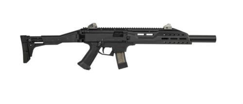 """CZ Scorpion EVO 3 S1 Carbine, 9mm, Faux Suppressor, 16.2"""", 10rd Magazines"""