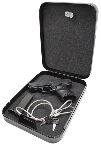 "Hi-Point Home Security Pack 9mm Handgun 3.5"" Barrel, Black Poly, Lock Box, 8rd"