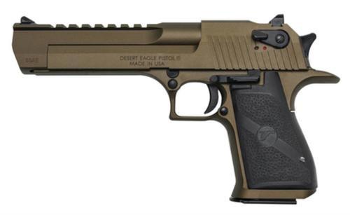 "Magnum Research Desert Eagle Mark XIX .50 AE 6"" Barrel Burnt Bronze Cerakote 7rd Mag"