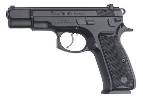 CZ 75 BD 9mm black - 10 rd mags CA Compliant