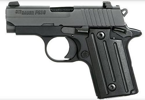 Sig P238 Sub Compact Pistol 380 ACP Black, Night Sights