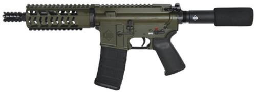 "Diamondback DB15 Pistol 5.56/223 7.5"" Barrel Olive Drab Green Finish 30rd Mag"