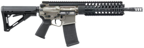 POF Rifles P415 Gen 4 NFA Rifle 5.56x45mm NATO 10.5 Fluted Barrel E2 Dual Extraction Integrated Ambidextrous Bolt Release/Bolt Catch/Magazine Release CTR Retractable Buttstock NP3 30rd - All NFA Rules Apply
