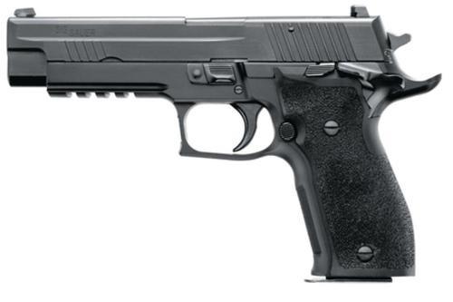 Sig P226 40 S&W 4.4In Nitron Black Da/Sa Siglite E2 Grip (2) 12Rd Steel MAG