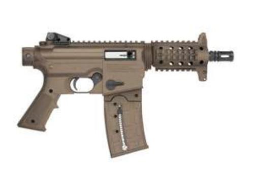 "Mossberg 715 Pistol, Blued/Tan Synthetic, 22LR, 6"", 11rds"