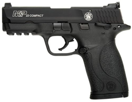 """Smith & Wesson M&P Compact 22LR, 3.5"""" Threaded Barrel, Adjustable Sights, 10rd"""