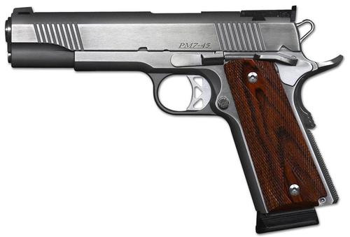 Dan Wesson Pointman Seven, 45 ACP, Stainless, Adjustable Sights, 8rd, CA Approved