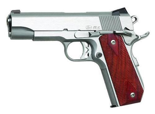 Dan Wesson Commander Classic Bobtail 45 ACP Stainless Steel Cocobolo Grips *CA Compliant*