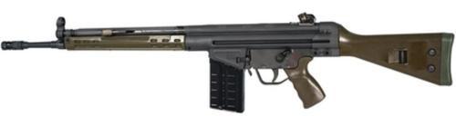 "PTR Model 91GI .308/7.62 NATO 18"" Match Grade Barrel Special Edition Green Fixed 20rd Mag"