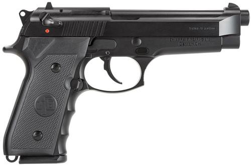 "Chiappa Firearms M9 Tactical 9mm 5"" 15+1 Adj Sights Poly Grips Black"