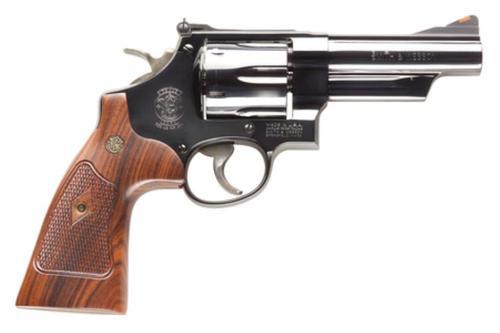 "Smith & Wesson M29 Classic 44Mag 4"" Barrel Walnut Grips Blued Finish"