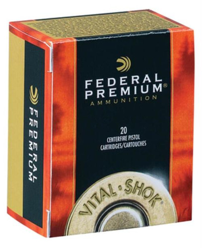 Federal Vital-Shok .44 Remington Magnum 280 Grain Swift A-Frame 20rd Box