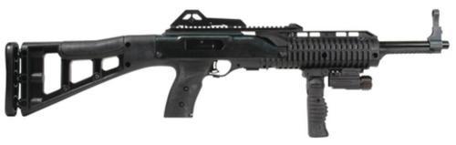 "Hi-Point Carbine .40 SW 17"" Barrel Skeletonized Stock Forward Folding Grip & Light 10 Rd Mag"