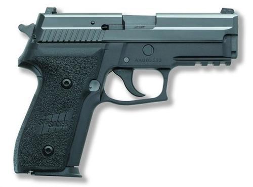 Sig 229R 9mm, Tac Rail, Black Nitron, Night Sights, 15rd Mags
