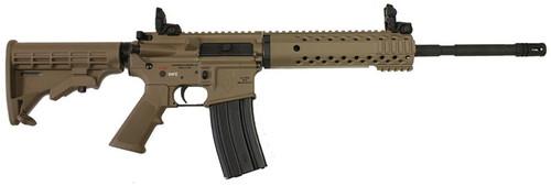 "Diamondback AR-15 Model DB-15 MagPul 5.56/223 16"" M4, Flat Dark Earth, 30 Round Mag"