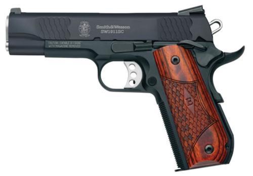 Smith & Wesson Model SW1911Sc, E-Series- Round Butt, Scandium Frame