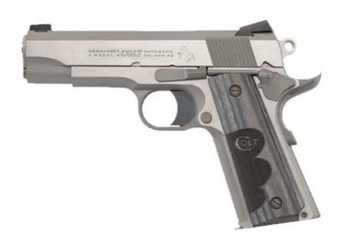 "Colt Wiley Clapp Edition Commander Size 1911 45 ACP 4.25"" Barrel Novak Sights 8rd Mag"