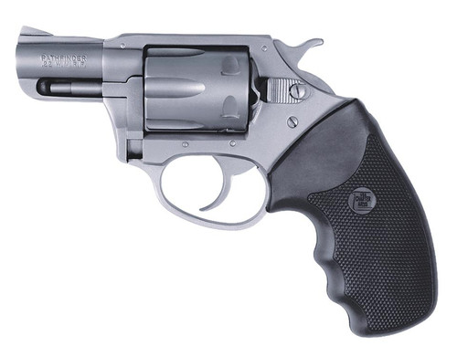 """Charter Arms Pathfinder 22 Mag 2"""" 6rd Black Rubber Grip Stainless Steel"""
