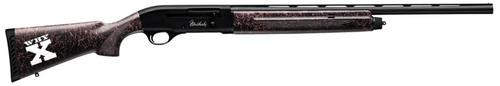 "Weatherby SA-08 Girls Hunt 2, 20 Ga, 24"", 3"" Chamber, Black Stock, Pink Accents"